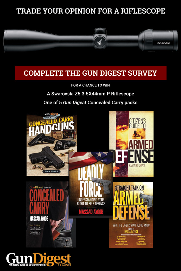 Take the Gun Digest Survey
